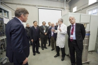 Visiting members of the Laboratory of the Ministry of Education and Science of the Russian Federation to improve the competitiveness of the leading Russian universities 14 March 2014.