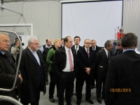 May 19, 2015 The visit of the Deputy General Director of the IAEA T. Varoranta
